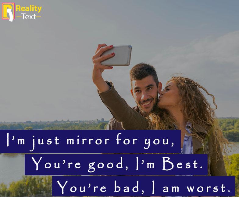 Attitude Selfie Captions