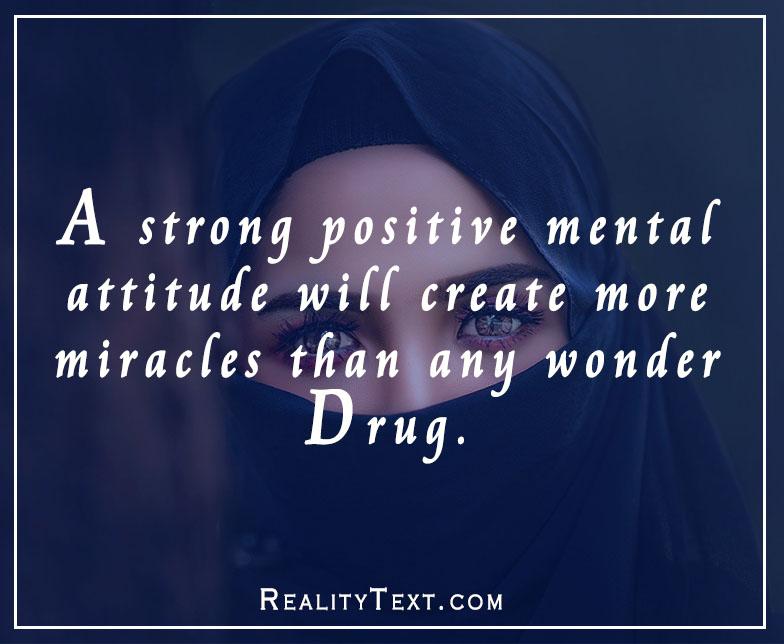 Positive Attitude Captions