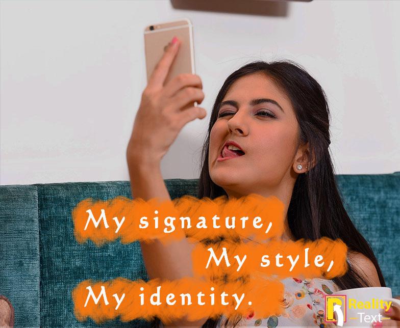 Selfies Captions for Instagram for Girls