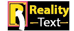 Reality Text